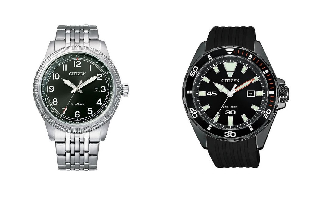 Citizen Ecodrive mallisto on laaja.